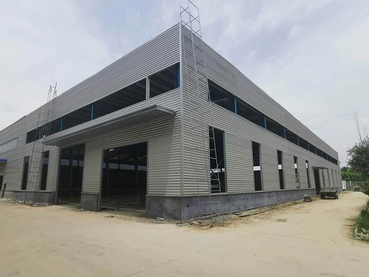 山东manbetx官网手机登录ManBetx手机网页版有限公司四号双层重钢6500平厂房全部竣工